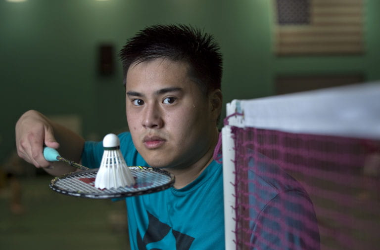 Making badminton his business