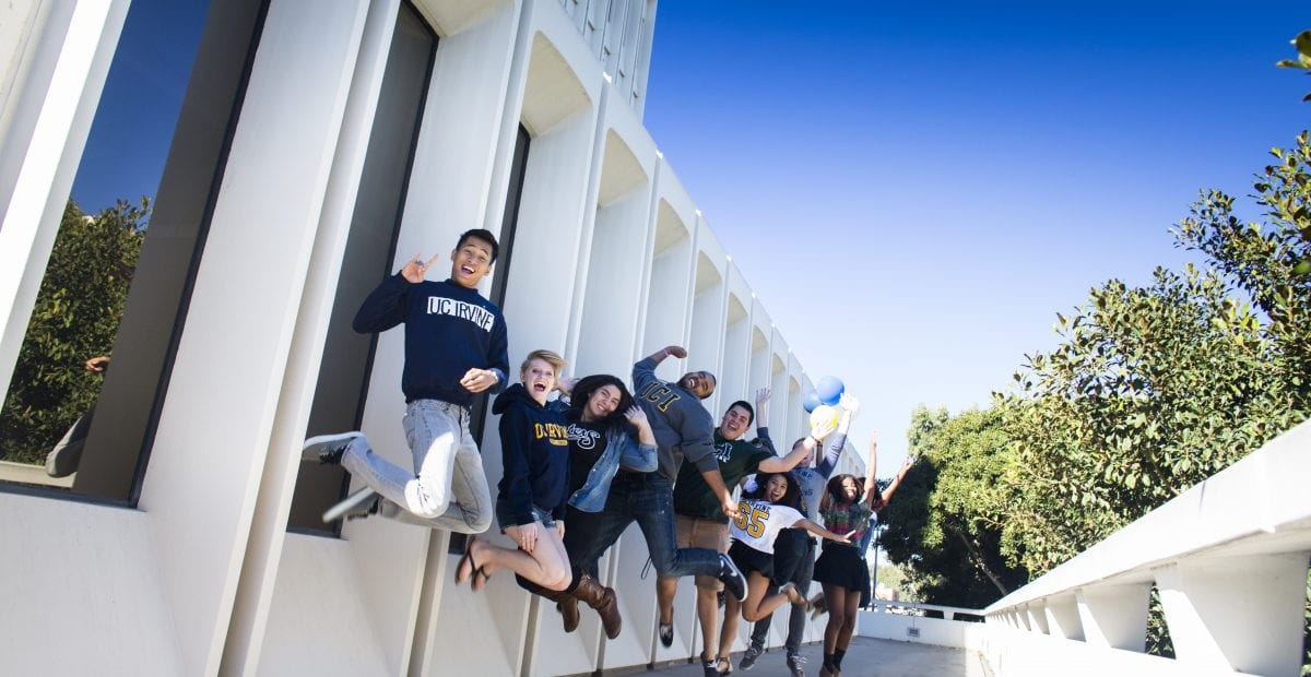 UCI has been ranked ninth among public universities nationwide in U.S. News & World Report's 2017 Best Colleges evaluation.  Elena Zhukova