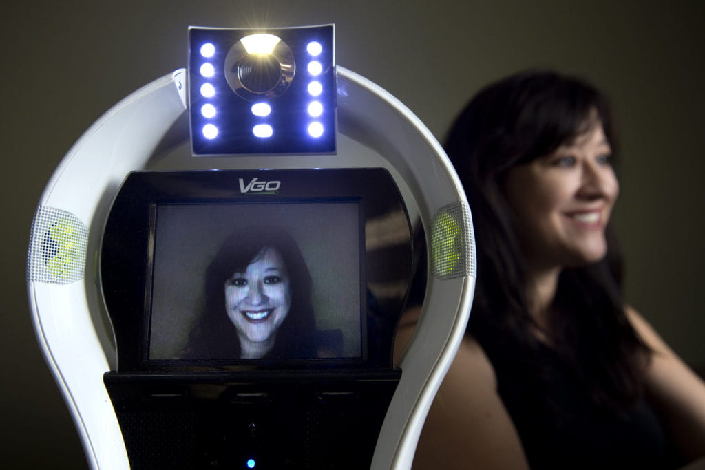 Robotic surrogates help chronically ill kids maintain social, academic ties at school