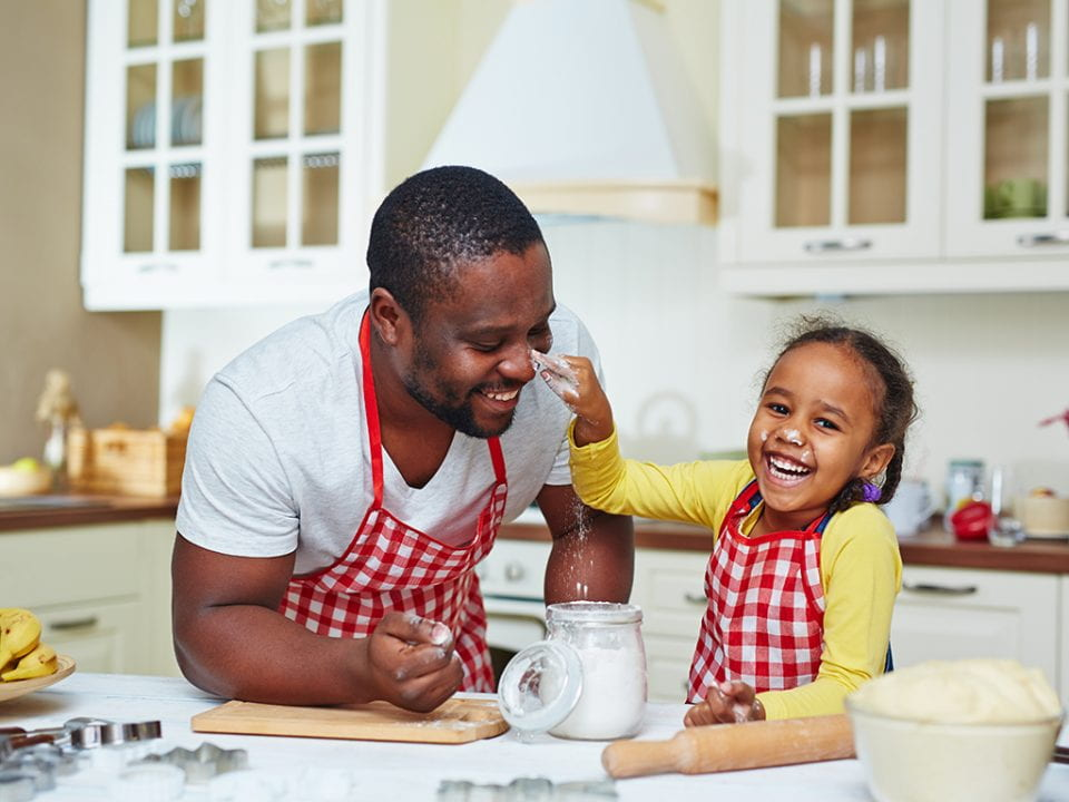 A UCI study of parents in Western countries found that time spent with children involved everything from preparing meals and snacks to reading and playing with them, and helping with homework. ThinkstockPhotos