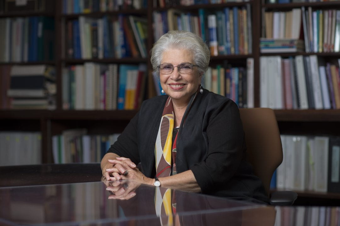 Dr. Hoda Anton-Culver, professor and chair of epidemiology at UCI, will serve as co-principal investigator for the California Precision Medicine Consortium's initial $1.3 million award from the National Institutes of Health.  Steve Zylius / UCI