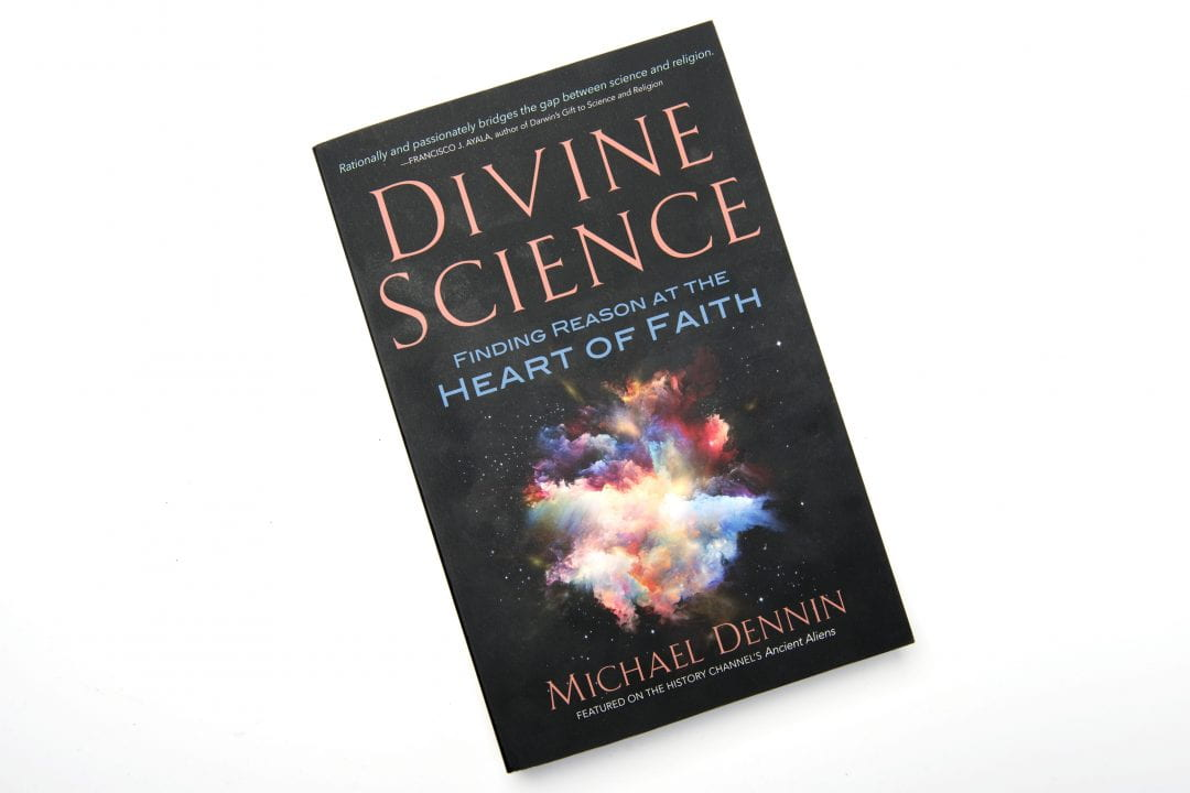In his new book, UCI physicist Michael Dennin explores how the Big Bang theory, evolution and other scientific principles can actually deepen a person's religious faith.  Steve Zylius / UCI