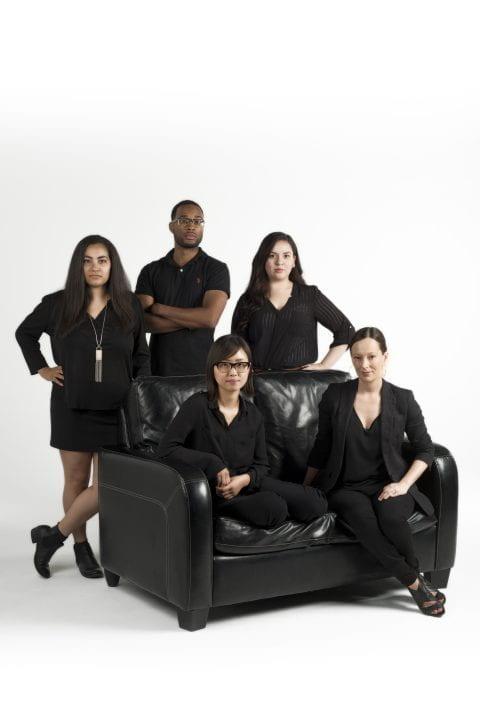 Helary Yakub; Davin Phoenix, Daisy Vazquez Vera, Ester Kim and Anita Casavantes Bradford