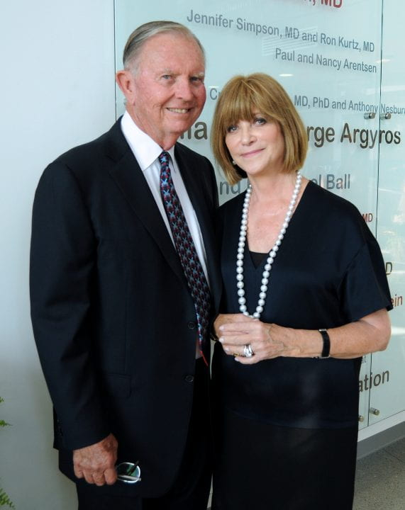 Gavin and Ninetta Herbert have committed a $5 million estate gift to the Gavin Herbert Eye Institute, a part of UC Irvine Health, to expand the breadth and depth of research into the retina. Courtesy of Gavin and Ninetta Herbert