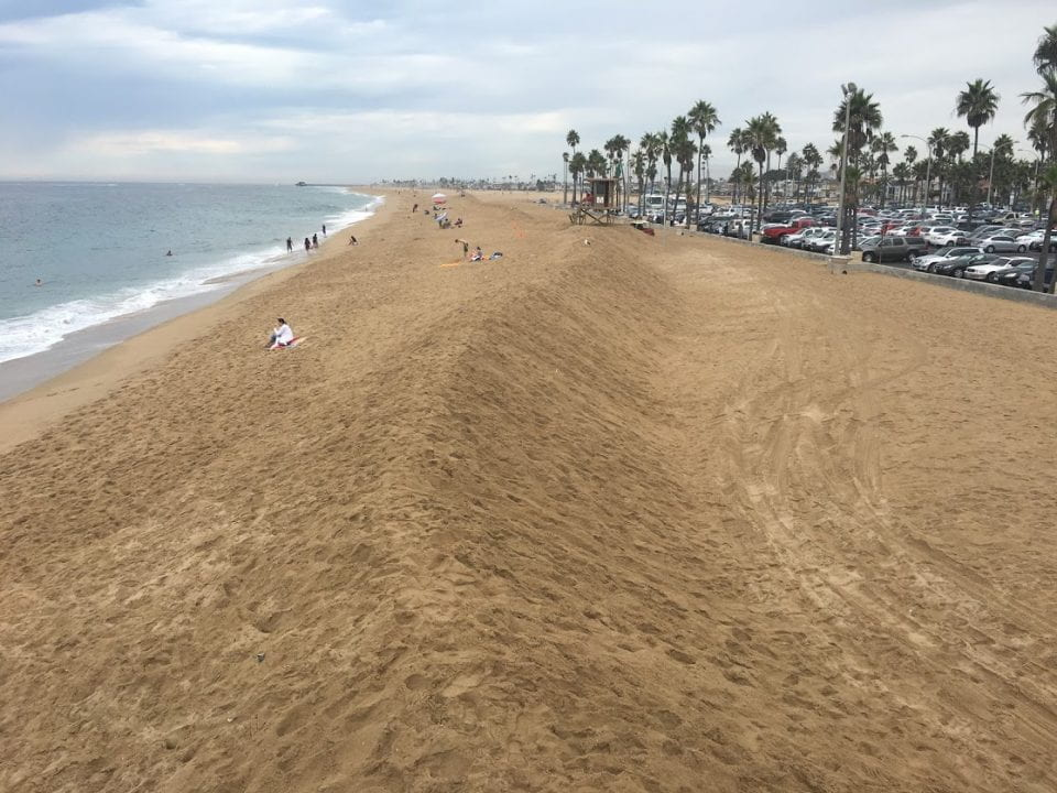 Shorelines such as the one at Orange County's Balboa Beach are vulnerable to the consequences of climate change.  Brett Sanders / UCI