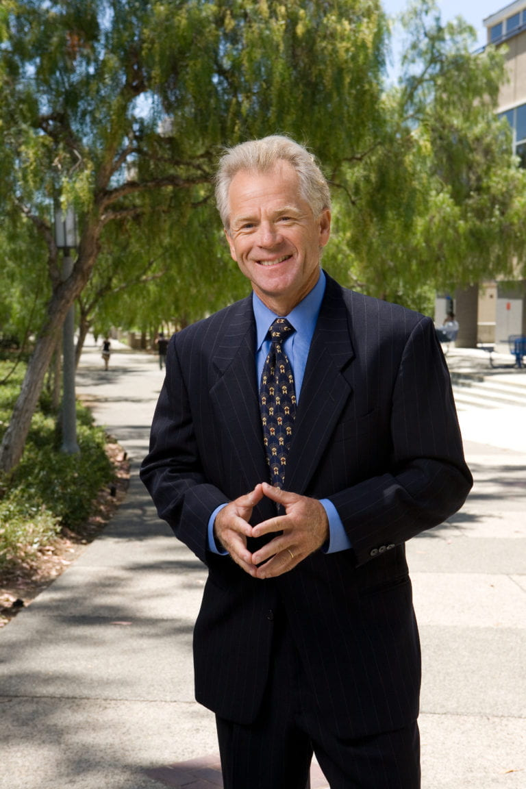 Trump names UCI business professor Peter Navarro to lead trade council