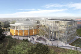 Student population growth at UCI spurs construction of high-tech classroom facility