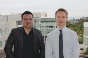 Christian F. Guerrero-Juarez (left) and Maksim Plikus