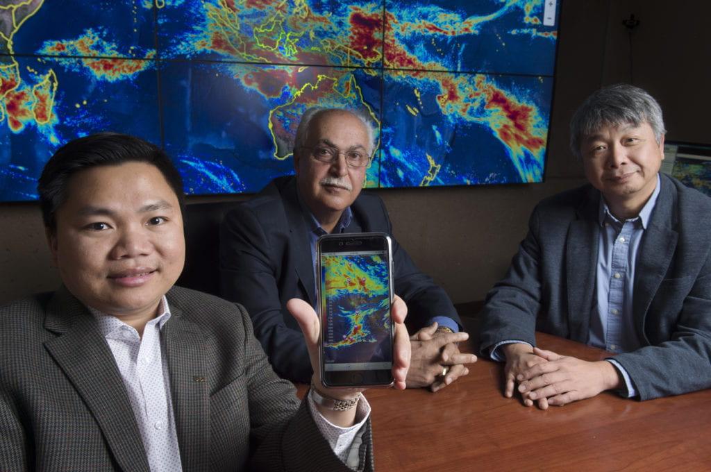 UCI introduces iRain smartphone app