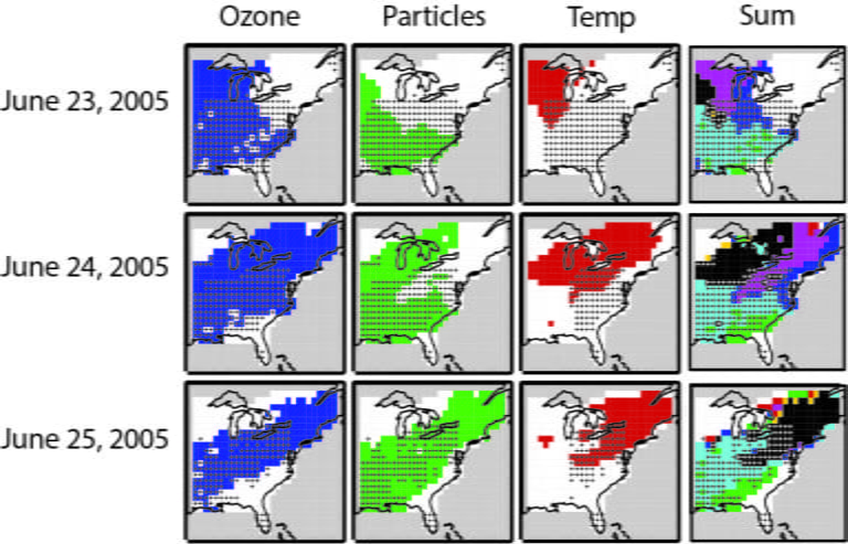 Concurrent heat waves, air pollution exacerbate negative health effects of each