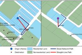 Older, denser neighborhoods offer better access to everyday destinations, UCI study finds