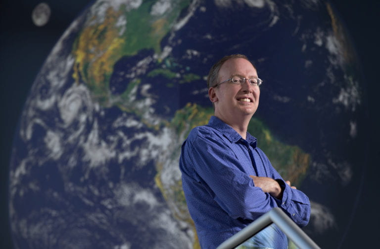James Randerson named Ralph J. & Carol M. Cicerone Chair of Earth System Science
