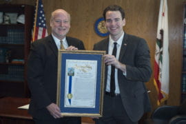 Assemblyman honors UCI Chancellor Howard Gillman for campus free speech advocacy