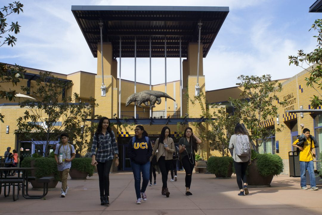 UCI student center