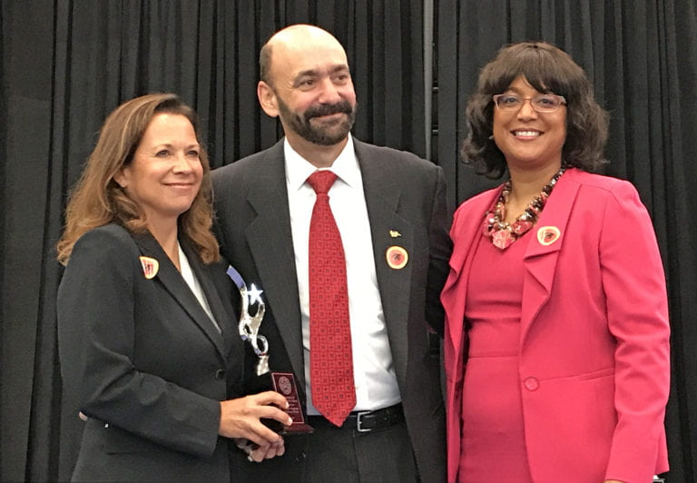 University is recognized as a distinguished partner by the Santa Ana Unified School District