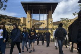 UCI ranked #7 in America for best public school freshman financial aid programs