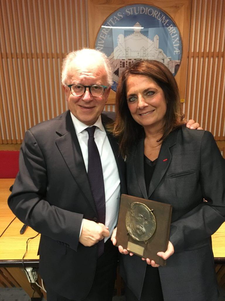 Geneticist Emiliana Borrelli receives prestigious honors