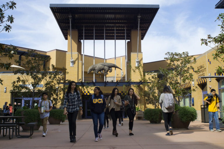 UCI is ranked third among U S  colleges for providing a