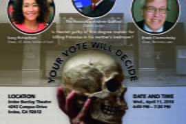 UCI to host mock trial of Hamlet for first-degree murder