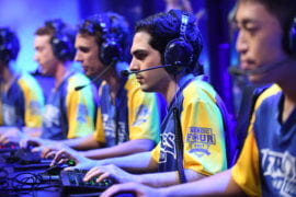 UCI team is No. 1 in Heroes of the Dorm tourney