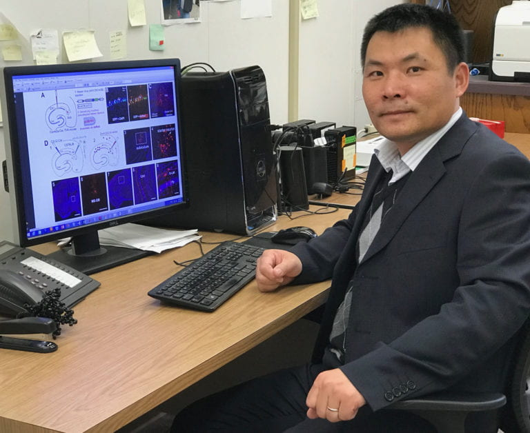 Professor gets prestigious BRAIN Initiative grant