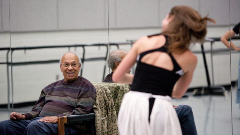 Modern dance giant Donald McKayle has died