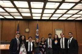 UCI A-team places 3rd in national mock trial competition