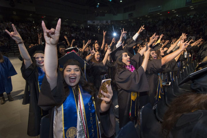 First-generation students make up half of UCI's class of 2018