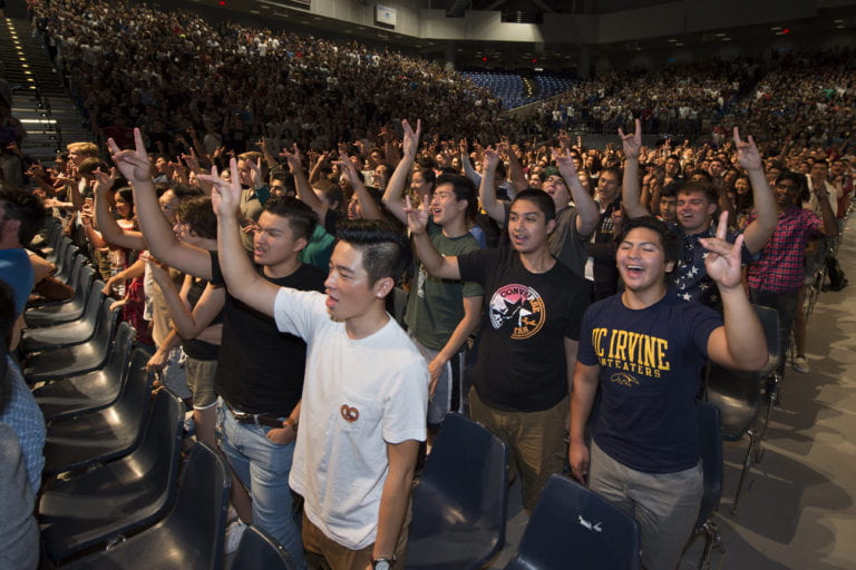 Almost half of students offered admission for fall quarter at UCI are first-generation