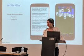 UCI student wins award for mobile app paper