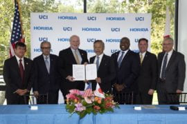 Horiba Group commits $9 million to UCI for new institute