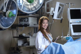 Physician-to-be benefits from philanthropy