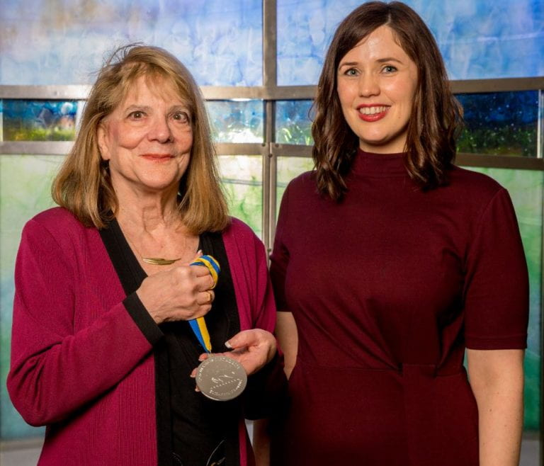 Distinguished Professor Elizabeth Loftus is awarded Dublin university's Ulysses Medal