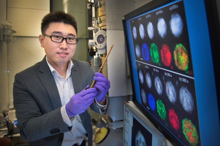 Clean and green: UCI physicist helps invent novel way of converting nitrogen to ammonia