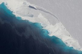 UCI and JPL researchers discover huge and growing hole beneath West Antarctic glacier