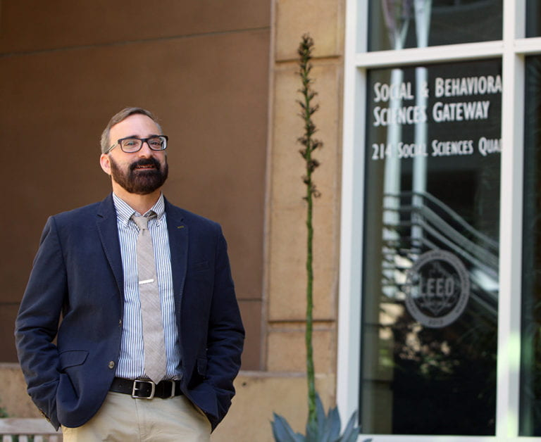 Social sciences dean Bill Maurer is awarded grant to study use of AI in financial services