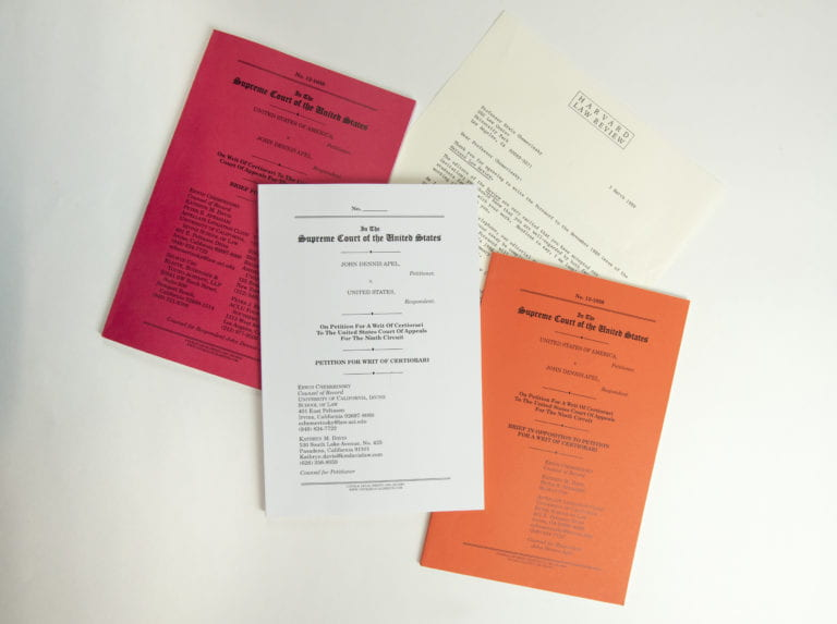 School of Law founding dean donates personal, professional papers to UCI Libraries