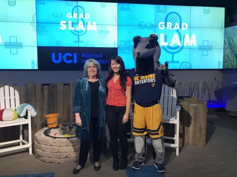 Grad student working on 'superbug kryptonite' wins UCI Grad Slam, will compete systemwide