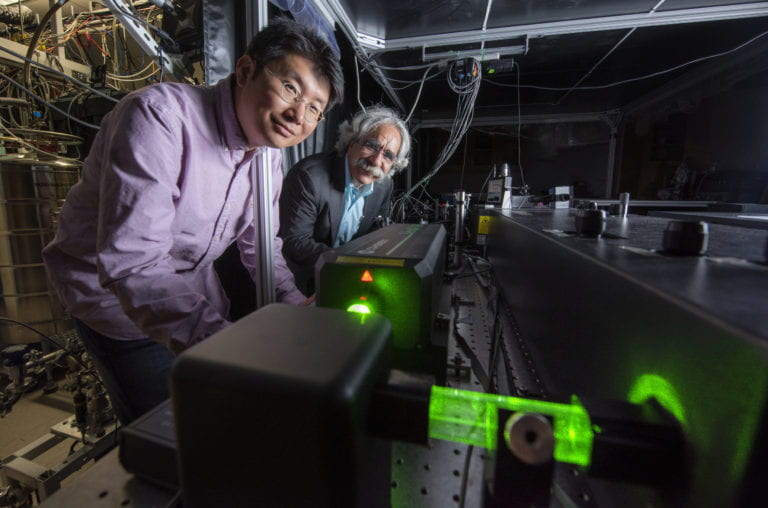 UCI scientists are first to observe and image all-important molecular vibrations