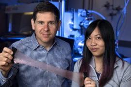 Squid skin inspires creation of next-generation space blanket