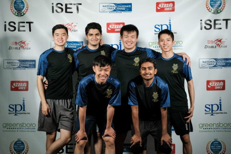 UCI table tennis team competes for first time in national championships, takes fourth place