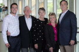 In honor of the Beall family's support, the campus's entrepreneurial and innovation platform to be renamed UCI Beall Applied Innovation