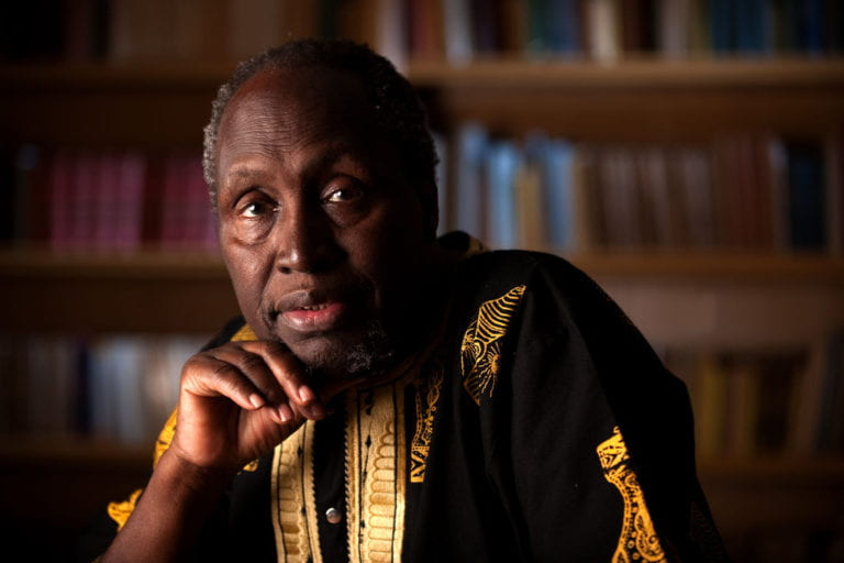 Distinguished Professor Ngugi wa Thiong'o wins 2019 Erich Maria Remarque Peace Prize