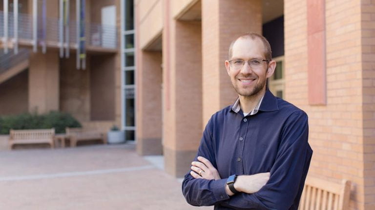 Assistant professor gets grant to crowdsource an online mental health intervention platform