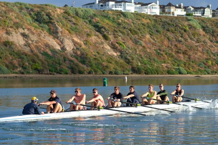 UCI men's crew team places 6th in the nation
