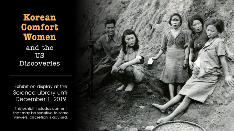 UCI Libraries host exhibit on Korean 'comfort women'