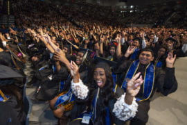 First-generation students make up more than half of UCI's class of 2019