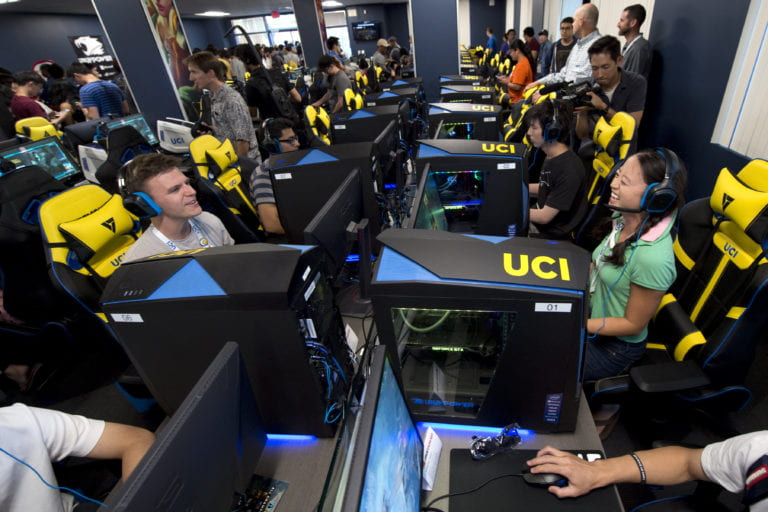 Esports donates to research labs and student clubs