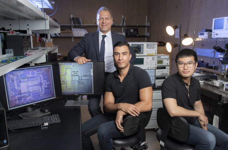 UCI electrical engineering team develops 'beyond 5G' wireless transceiver