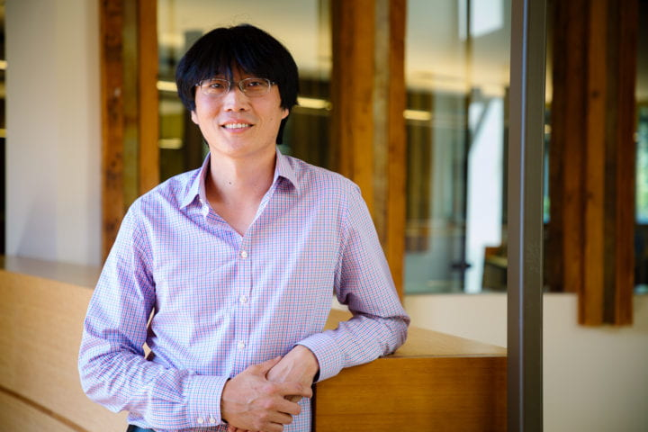 Biomedical engineer Chang Liu named one of only five Moore Inventor Fellows nationwide